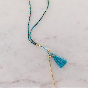 Gorjana Beaded Lariat Necklace